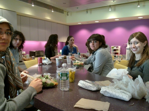 Columbia WICS women at Yahoo!, February 2011